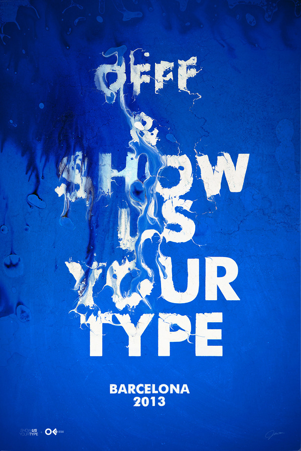 OFFF #type #offf #poster #texture