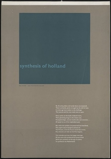 Flyer Design Goodness - A flyer and poster design blog: Wim Crouwel - selected graphic designs and prints from museum archive #type #grid #poster #typography