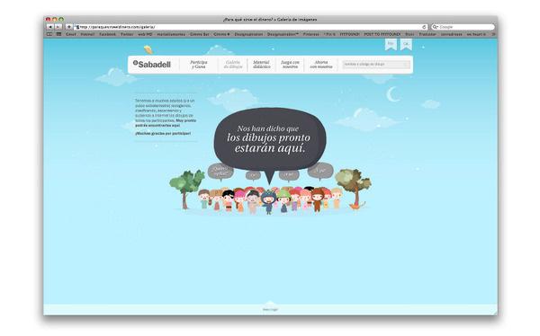 Banc Sabadell mariadiamantes #bancsabadell #design #monster #home #illustration #kids #children #web #online