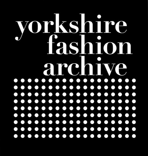 Creative Review - Yorkshire Fashion Archive Brand Identity #fashion #brand #identity #trebleseven