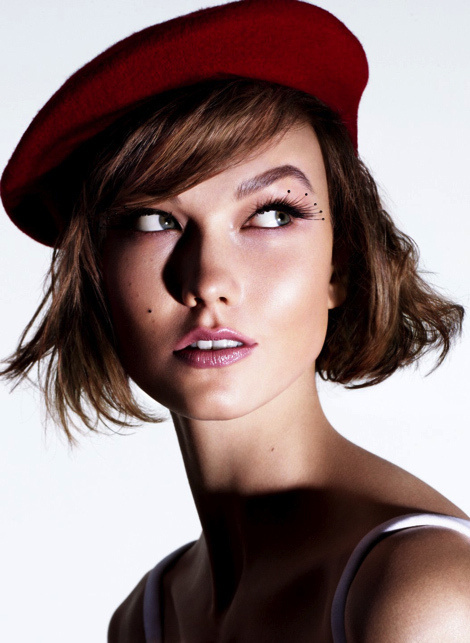 Karlie Kloss by Miguel Reveriego for The Sunday Times Style #model #girl #photography #portrait #fashion
