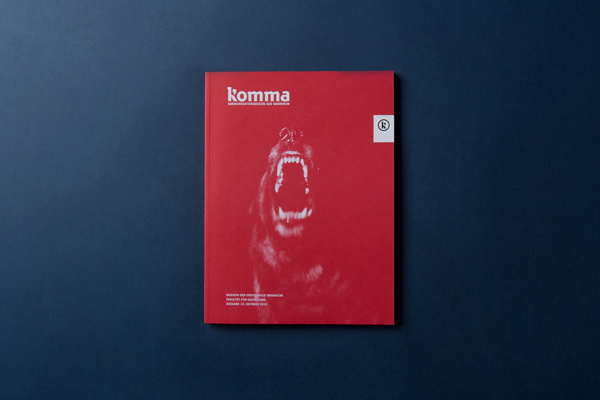 komma 13 on Behance #cover #print #editorial