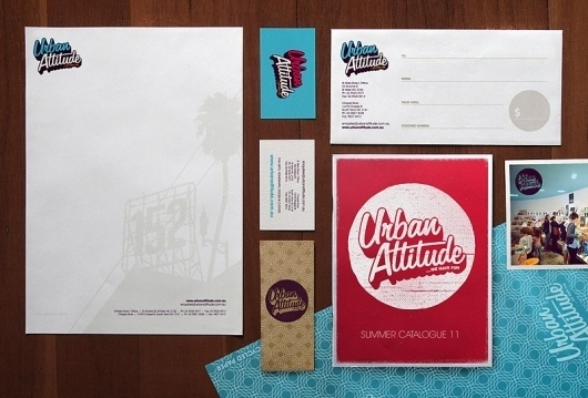 URBAN ATTITUDE - Jimmy Gleeson Design #urban #business #attitude #card #design #gleeson #jimmy #letterhead