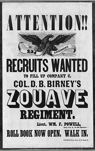 FFFFOUND! | recruiting-poster.jpg 648×1024 pixels #old #poster #typography