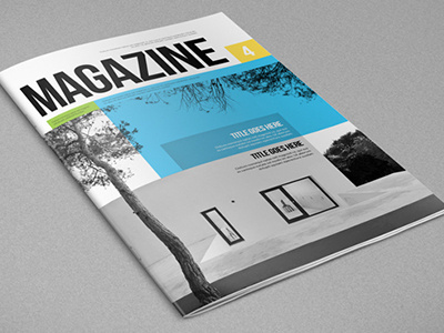 Best Modern Architecture Magazine Graphicriver Posters images on ...