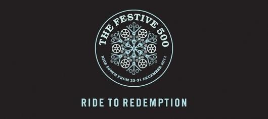 Festive 500 – Ride to Redemption   Rapha #logo #brand #rapha