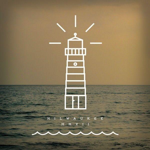 Miscellaneous by Zac Jacobson, via Behance #water #lake #lighthouse #nautical