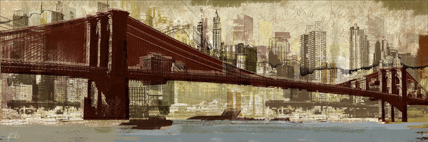 NEWS — kylemosher.com #cut #print #bridge #collage #paper #brooklyn