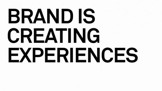 urban taster | stuff we like #olins #wolff #branding #experiences #is #brand #creating