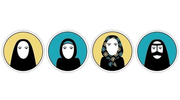 Tesi di laurea / 2011 on the Behance Network #icon #women #illustration #iran