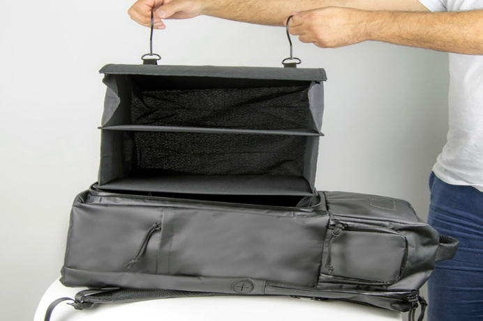 ProGo is a carry-on #backpack for the person on the go. Small enough to carry-on, but it's large enough to fit your clothes, shoes, laptop a
