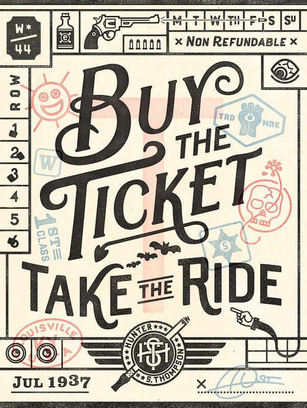Wander Postcard CommonerInc #stamps #ticket #texture #typography