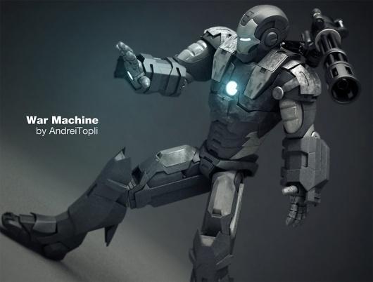 War Machine 3D Model - 3d Graphics - Creattica #max #machine #3ds #war #character