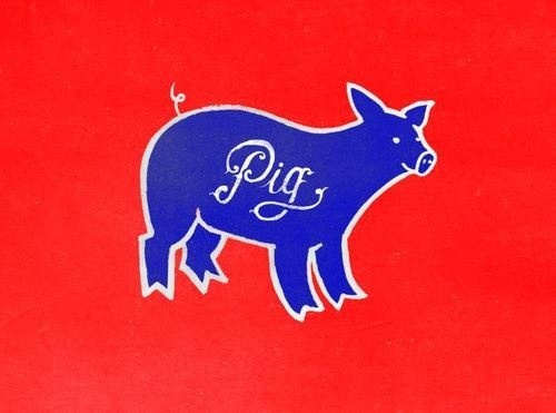 Pig, by Pedro Oyarbide, Saint Kilda #logo #pig