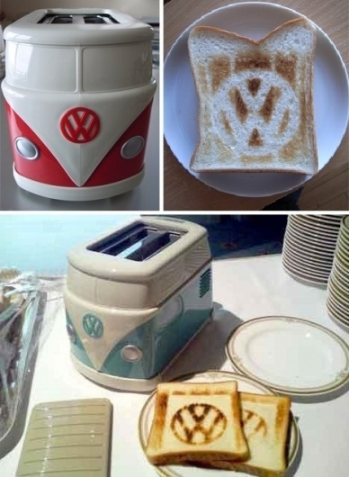 Jay Mug — The VW Hippie Van Toaster #gadgets