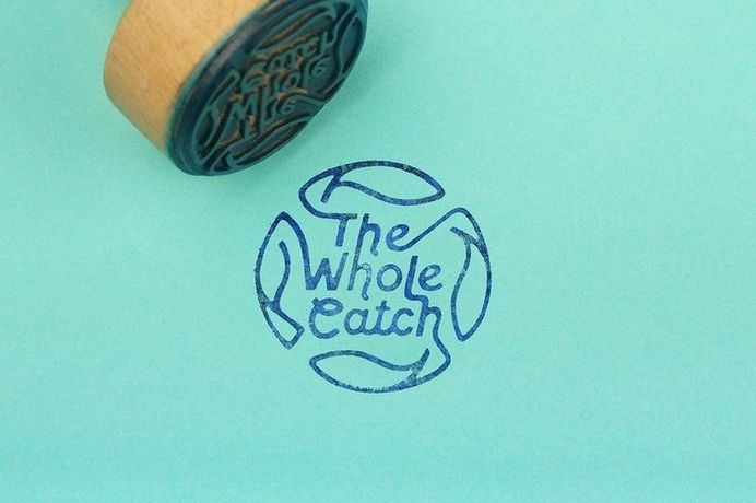 The Whole Catch by Cameron Turnbull #logo