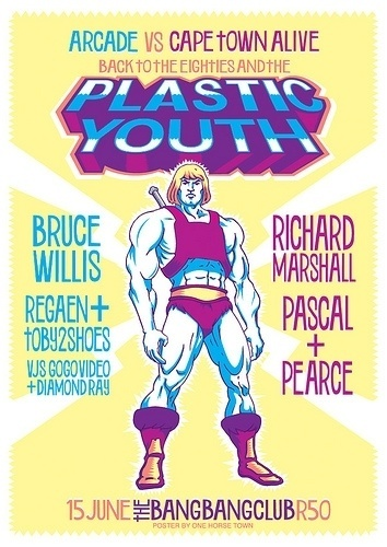 Flyer Design Goodness - A flyer and poster design blog: one horse town #plastic
