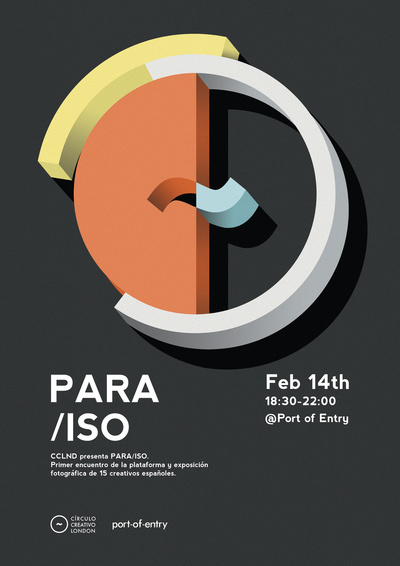 Para/ISO #events #design #graphic #shows #photography #posters #exhibitions