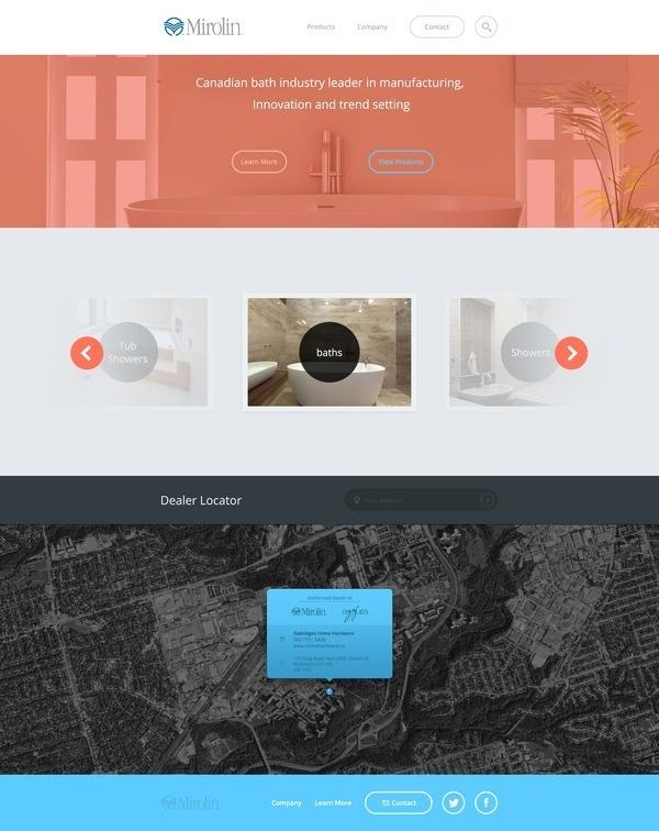 Fullpixels #flat #layout #web #simple