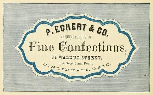 coqueterías #packaging #confections #vintage #label