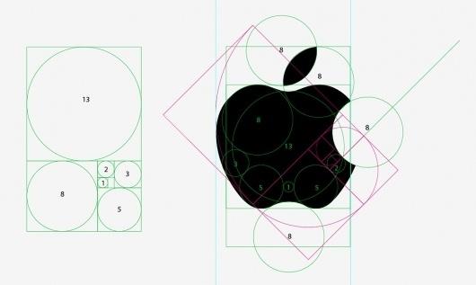 das-design-des-apple-logos.jpg (JPEG Image, 970x582 pixels) #apple #logos #illustration #golden #section