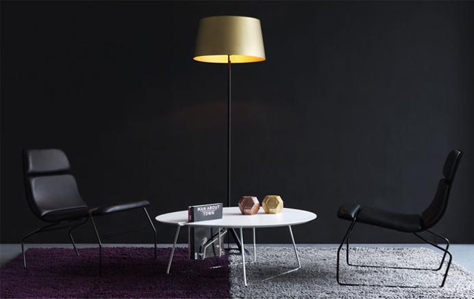 Stripe Lounge Chair