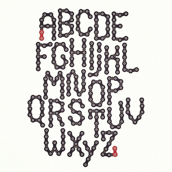 chainless typeface