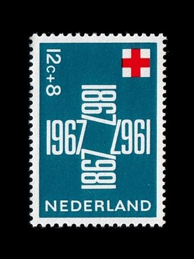 [rafdevis] - Axel Hütte #post #stamp #1867 #nederland #1967