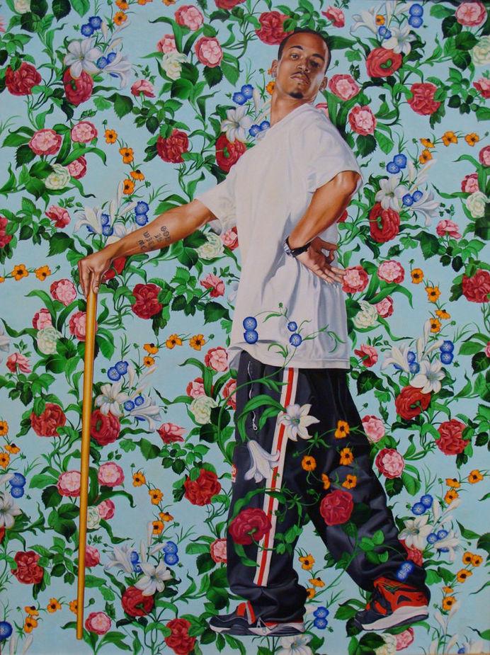 Kehinde Wiley painting #swag #painting #york #barock #new