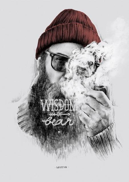 Illustrator Marynn #smoking