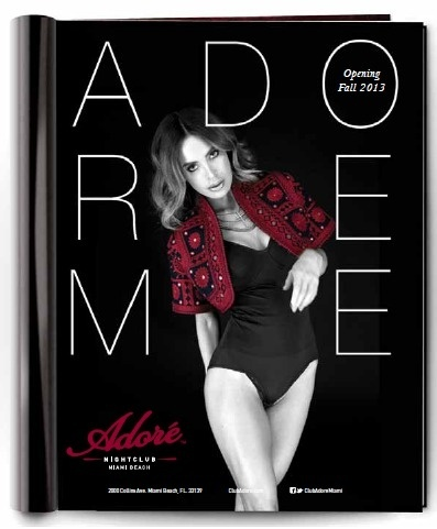 Adore Nightclub Miami #nightclub #whyworkshop #branding #advertising
