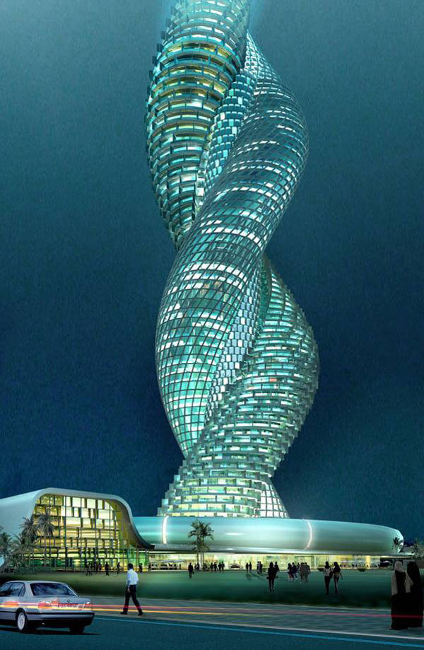 Cobra Towers in Kuwait   the mystery