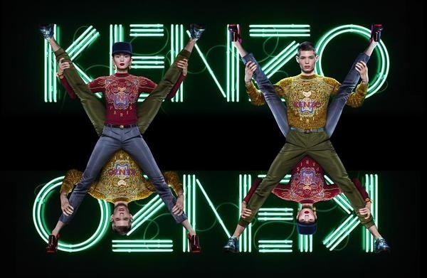 Kenzo campaign summer 2013 #fashion