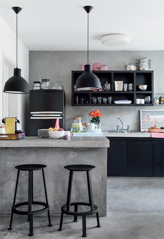 The Design Chaser: Black Kitchen Inspiration