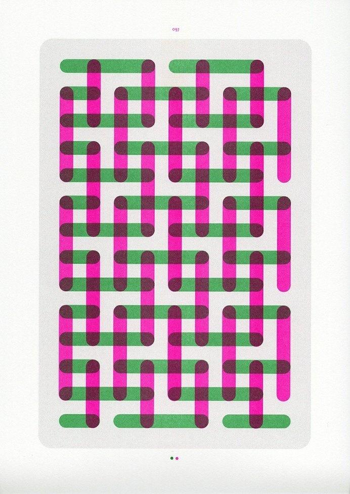 nr.097 #risograph #print #typography