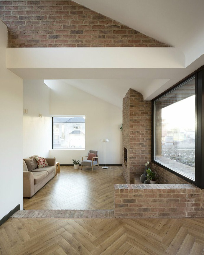 living room / Scullion Architects