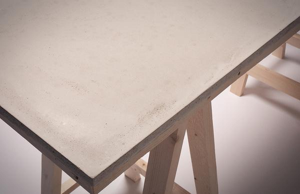 Concrete Desk in defringe.com