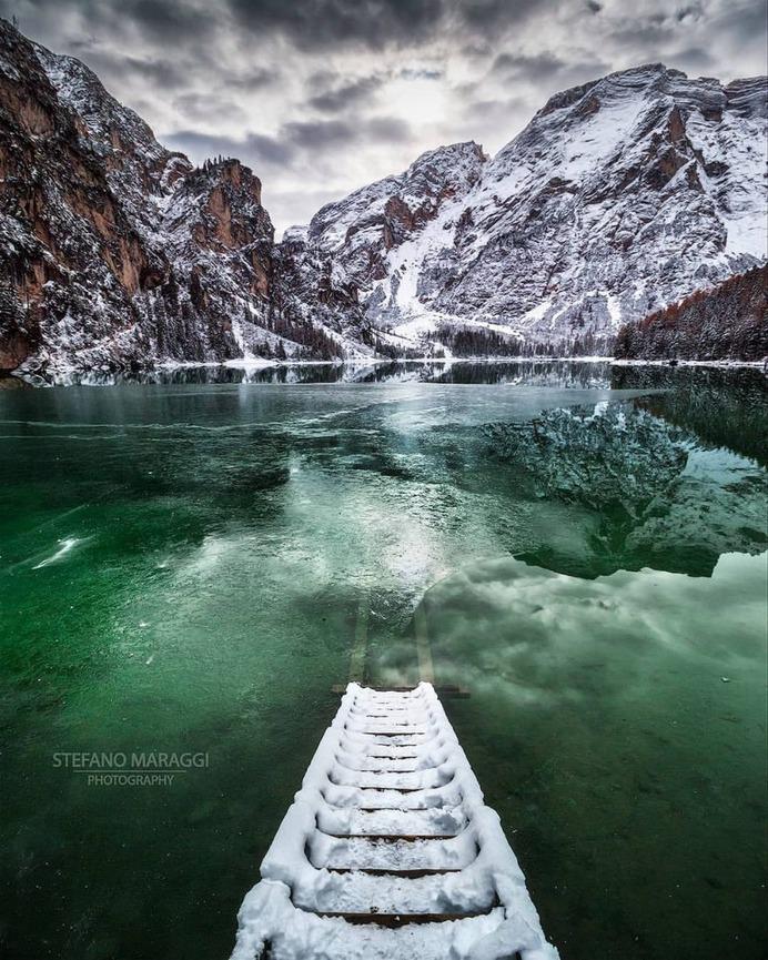 Wonderful Winter Landscapes in Dolomites by Stefano Maraggi