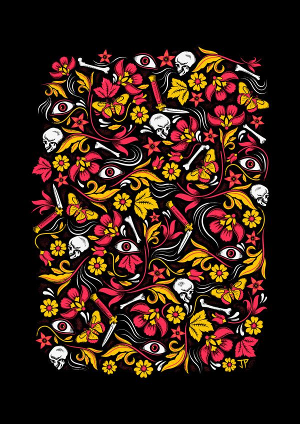 Lost / Found on Behance #poulter #pattern