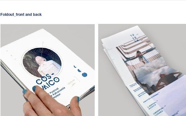 Cósmico_ on Behance #clara #fernndez