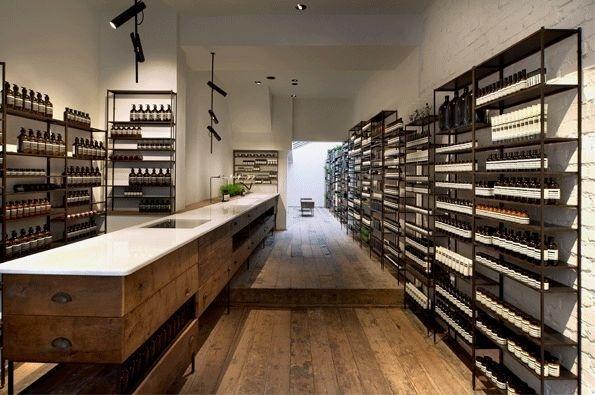 Aesop Islington 56, Cross Street #interior #retail #design #space #store #concept #hipshops