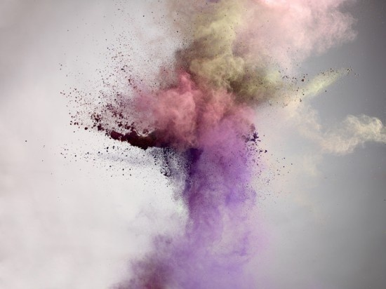 Marcel Christ, Powders #paint #burst #pigment #powder