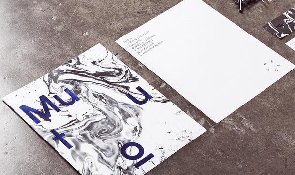 Mutuo | Manifiesto Futura #typography #branding #stationery #marble