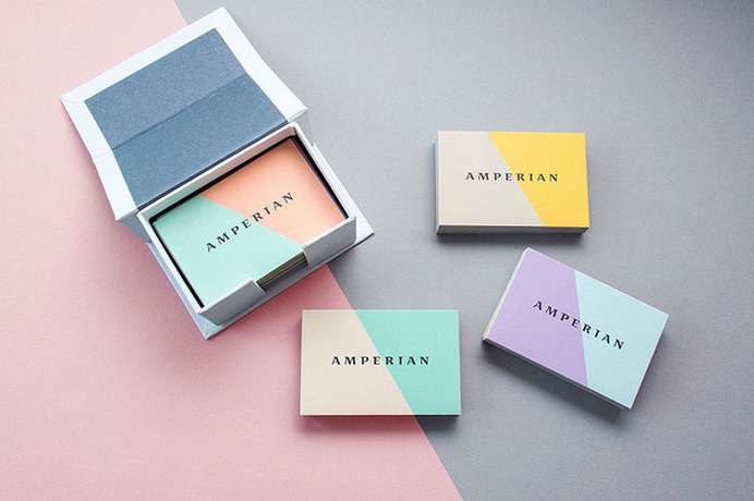 Amperian Business Card #packaging #printing