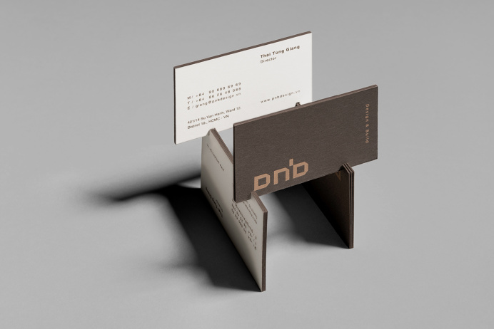 Business card - Brand identity architecture