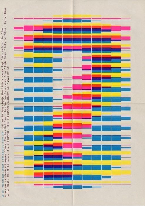 Karel Martens #inspiration #colorful #graphic #poster