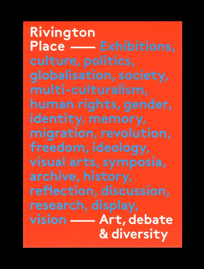 Rivington Place - OK-RM #branding #print #identity #art #logo