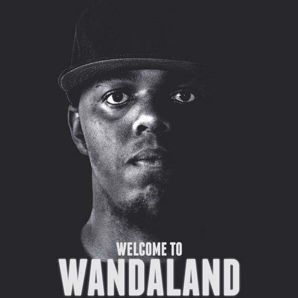 Wanda - welcome to Wandaland cover #album #white #design #graphic #black #hiphop #photography #art #and