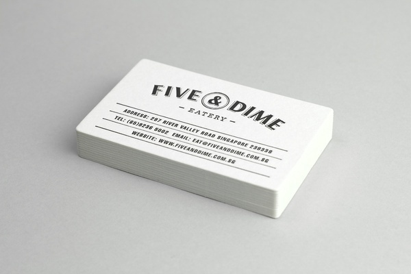 Five & Dime #card #business