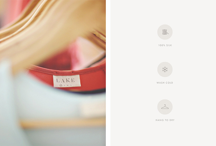 Lake by Nudge #clothes #label #icons